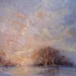 landscape painting by Irena Kurowska